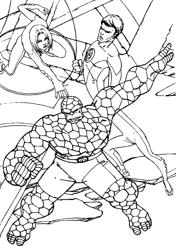 Quiet Before the Storm coloring page