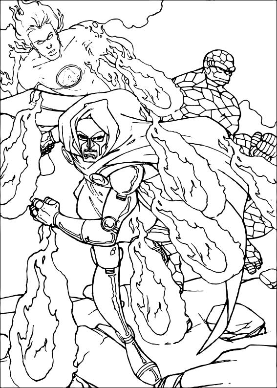 Doctor Doom Coloring Pages Doctor Doom