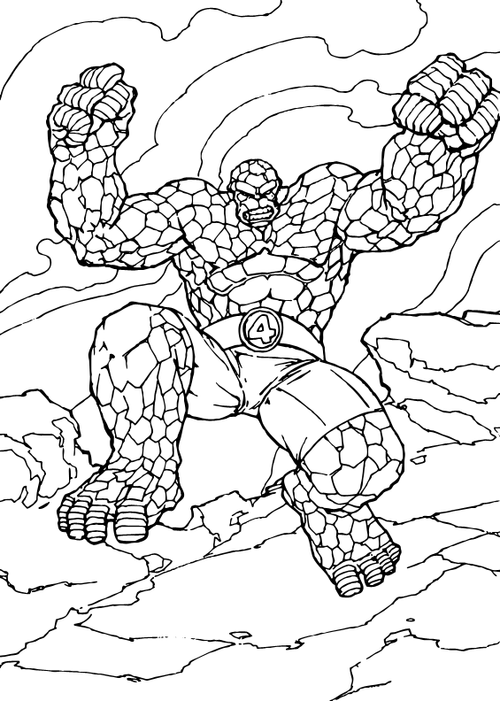 Pages Thing Thing Coloring Pages