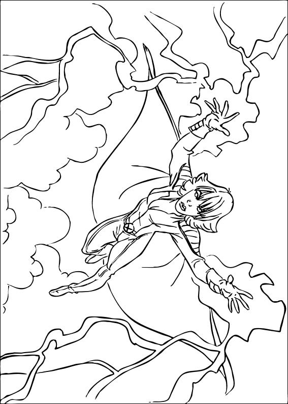 X Men Coloring Pages Storm