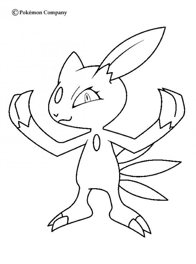 Pokemon N 7 Color Online Print