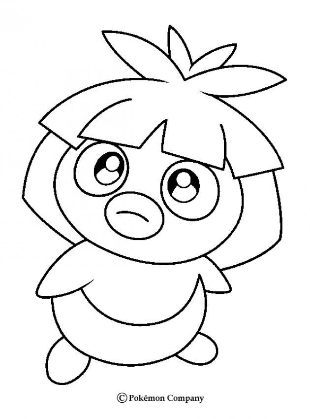Pokemon N 8 Color Online Print