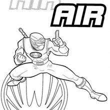 Power Rangers In Position Coloring Pages Hellokids Com