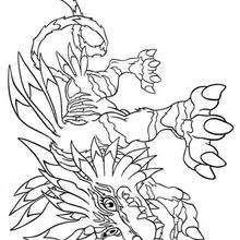 digimon weregarurumon coloring pages - photo#6