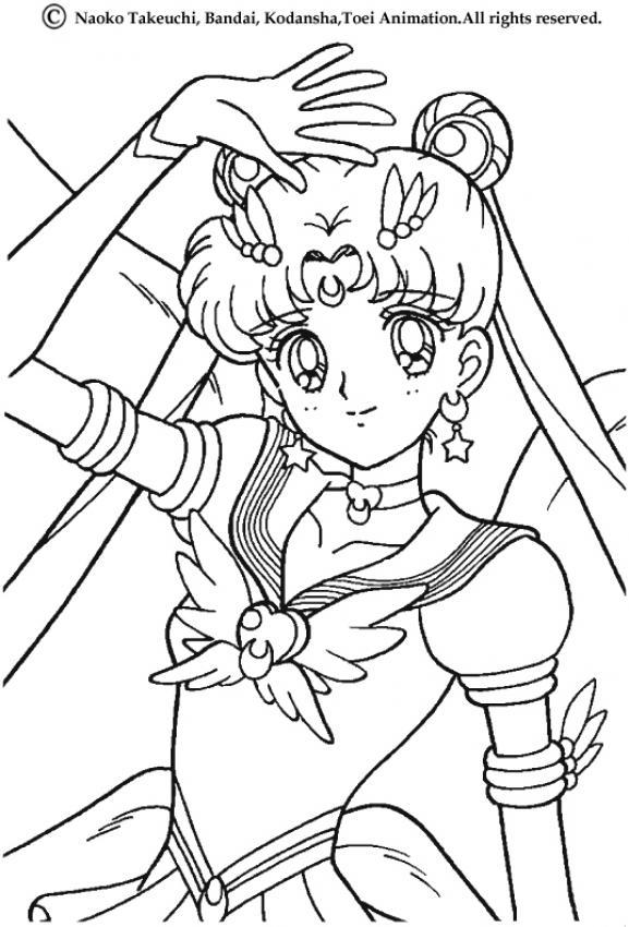 sailor moon s sign coloring pages hellokids com