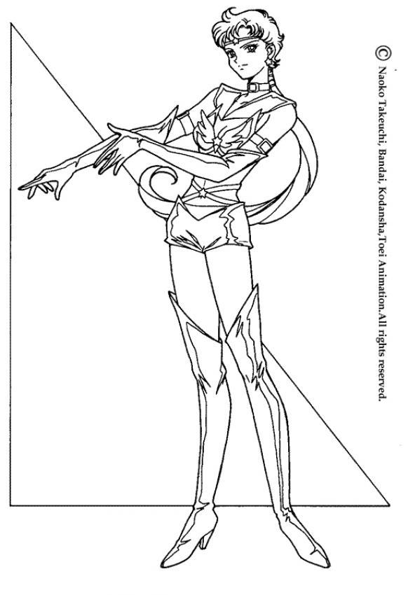Sailor Moon N 19 Color Online Print