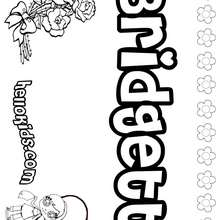 brianna name coloring pages - photo#7