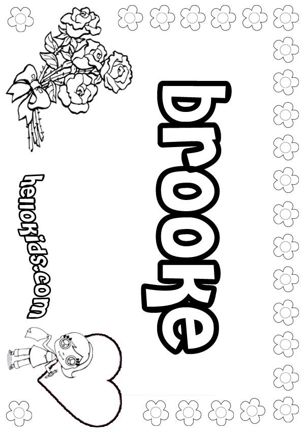 bubble names coloring pages - photo#6