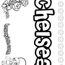 Chel coloring pages