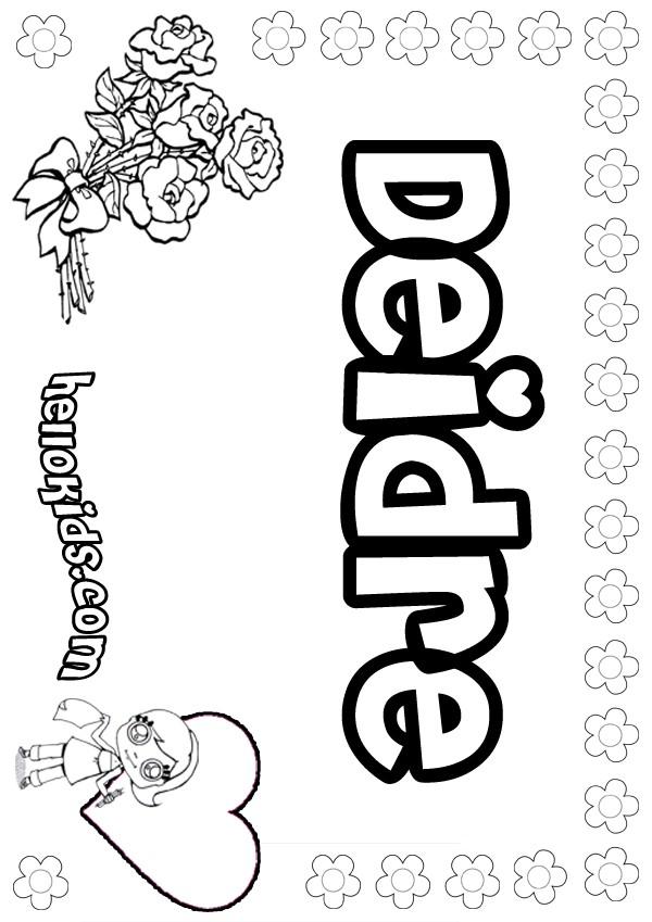 Debra coloring pages - Hellokids.com