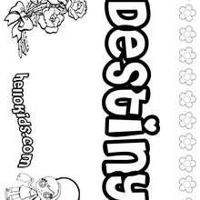 Destiny Coloring Pages Hellokids Com