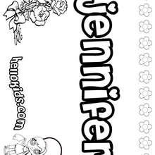 jenny jenny coloring page