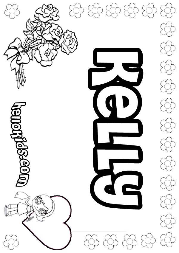 Kelly coloring pages Hellokids