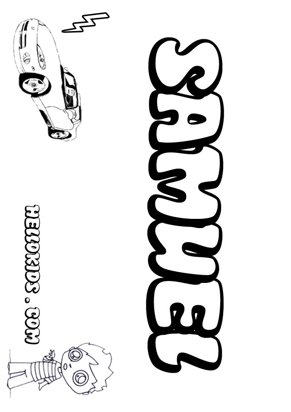 coloring pages samual - photo#35