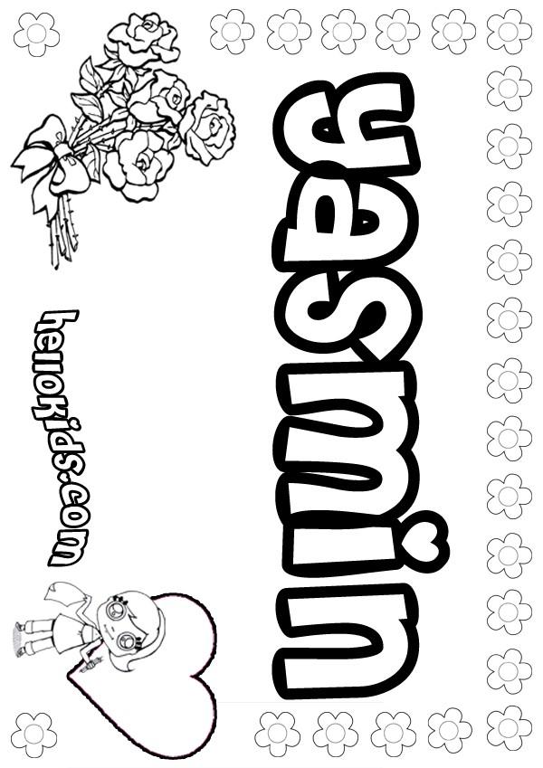 Bratz Coloring Pages Yasmin. YASMIN. Uwani - Coloring page
