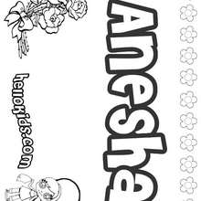 Andrea coloring pages Hellokids