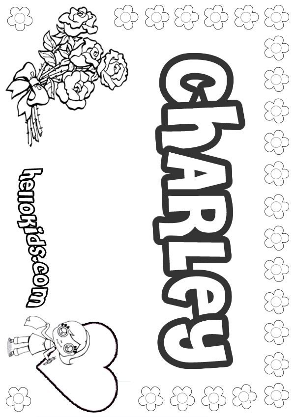 Charley Coloring Pages Hellokids Com