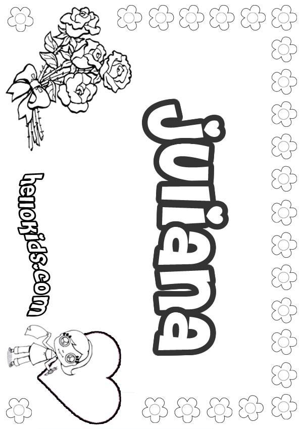 Juliana Coloring Pages Hellokids Com