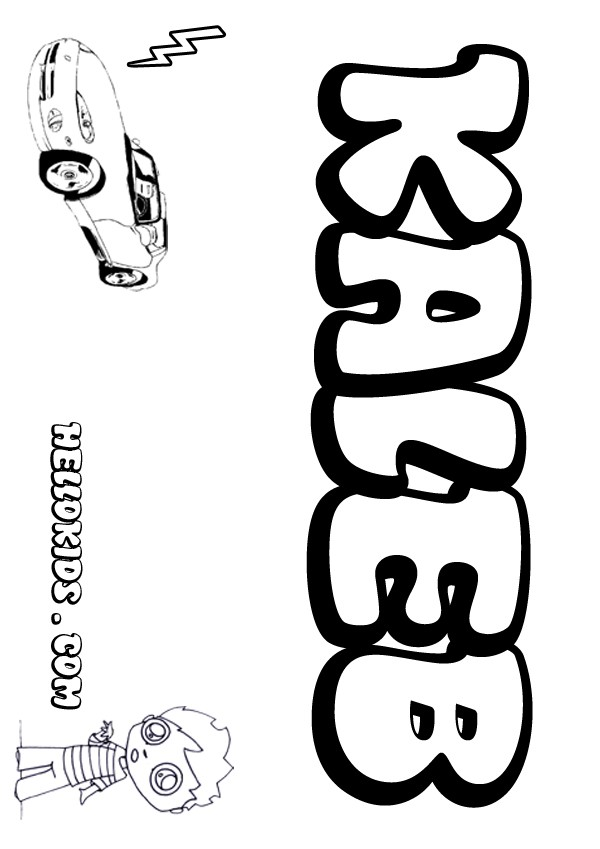coloring pages letter names daisy - photo#21