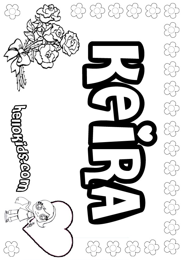 Keira coloring page