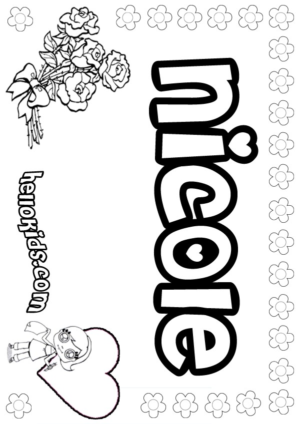 nicoles horse coloring pages - photo#31