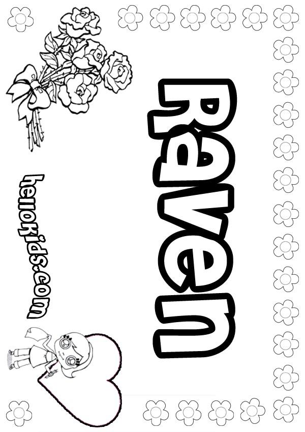 Raven coloring pages Hellokidscom