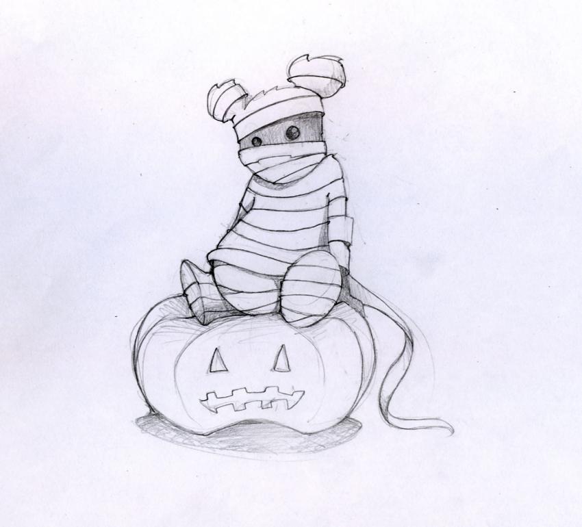 HALLOWEEN illustrations - 24 Halloween drawing & design inspirations