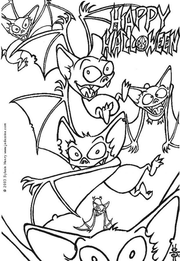Crazy bats coloring pages Hellokidscom