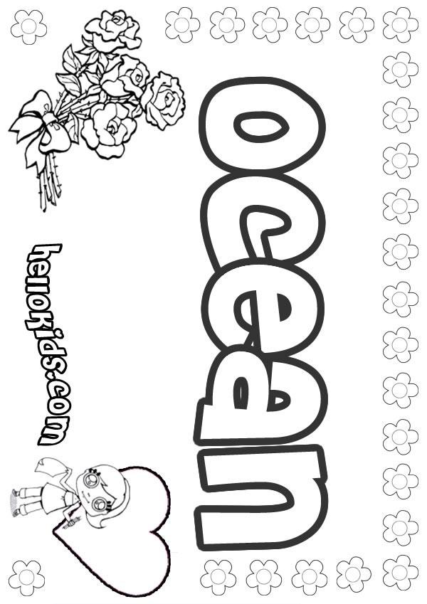 Ocean coloring pages  Hellokidscom