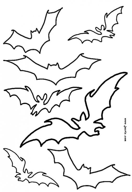 Halloween stencil patterns - 14 free printable templates for kids