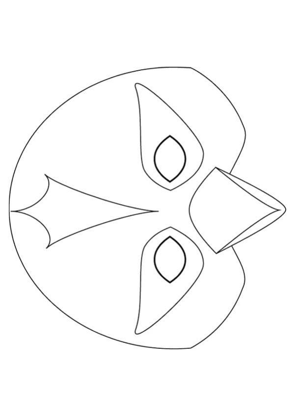 Beak Templates Masks Bird Mask Templates