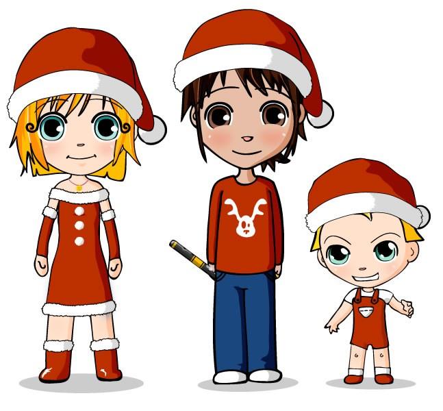 Christmas Time Ana Teo And Matias Celebrate
