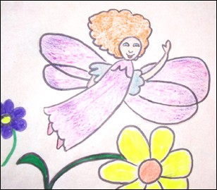 How to draw a Fairy - Drawing for kids - HOW TO DRAW lessons - How to draw FAIRY TALES