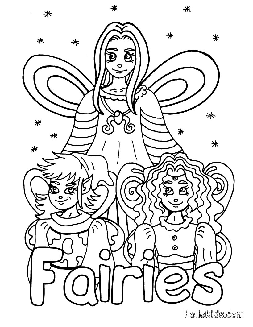 crayola mosaic coloring pages | COLORING PAGE OF FARIES « Free Coloring Pages