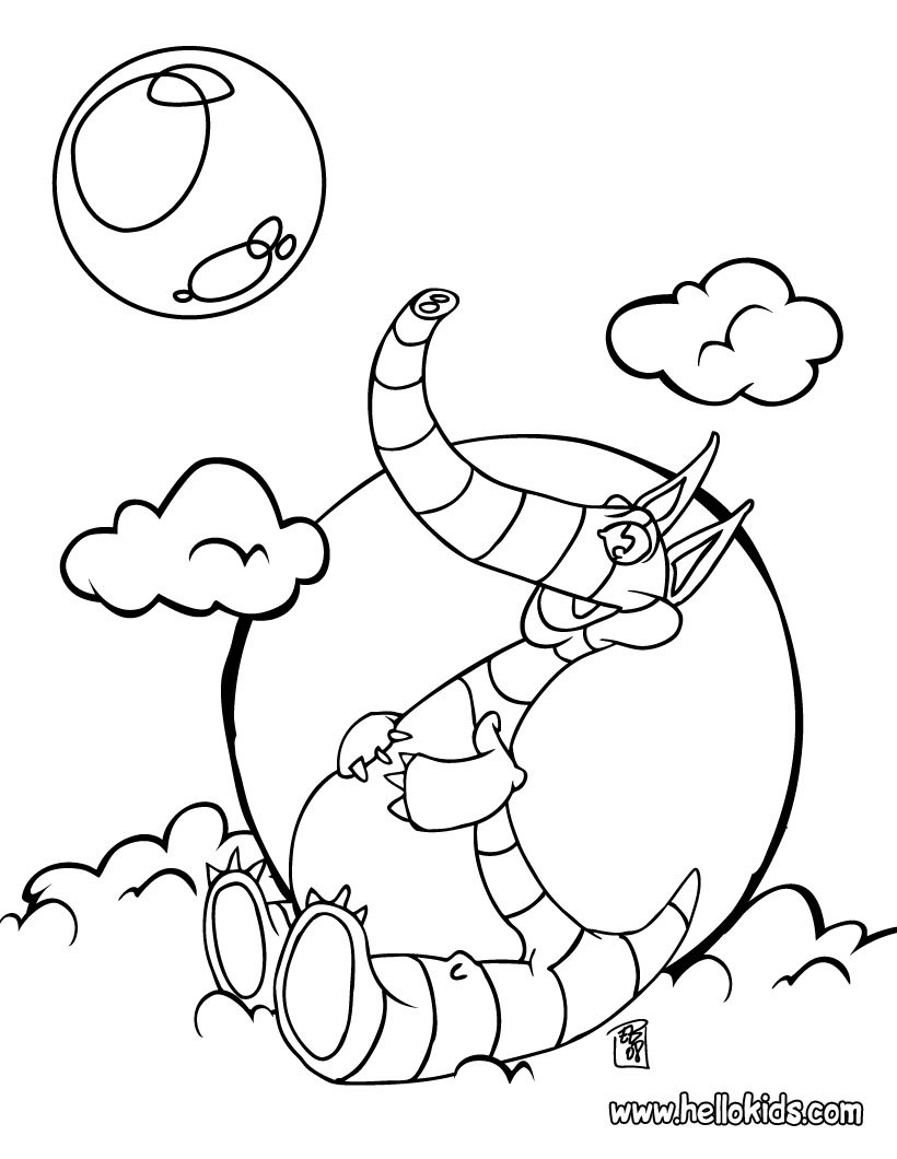 Coloring Pages Of Prehistoric Animals : Other prehistoric animal coloring pages fat dinosaur