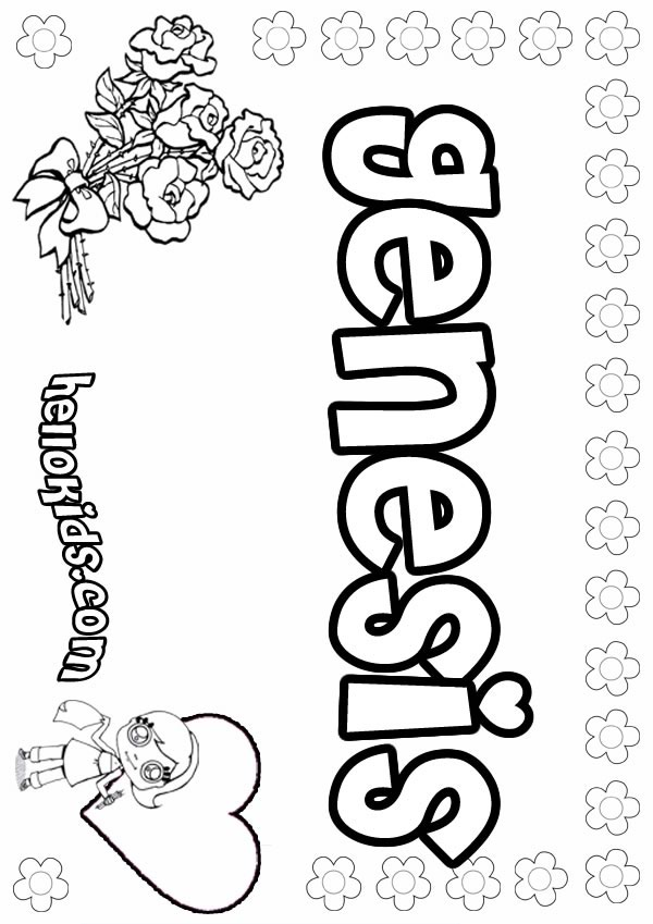 Genesis coloring pages Hellokids