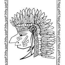 Indian Chief portrait
