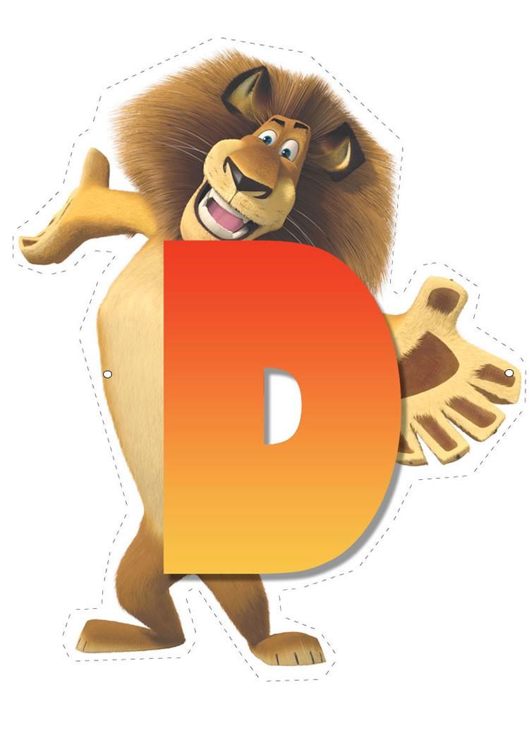 How To Craft Lion Letter D Hellokidscom