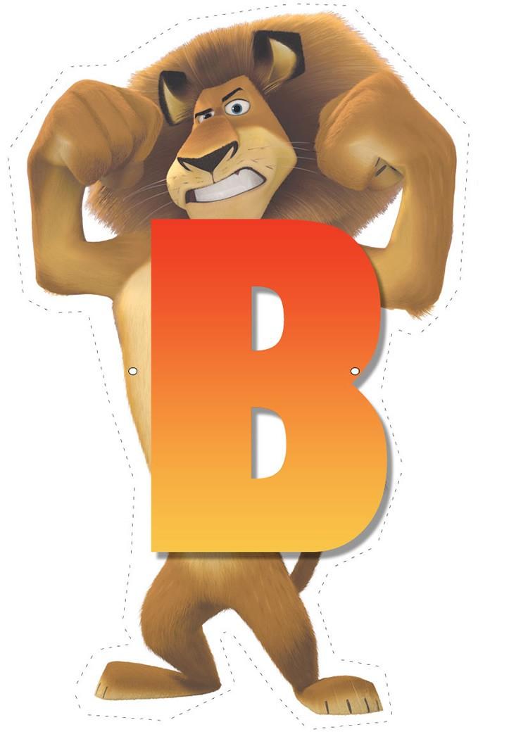 Madagascar 2: Letter B letter