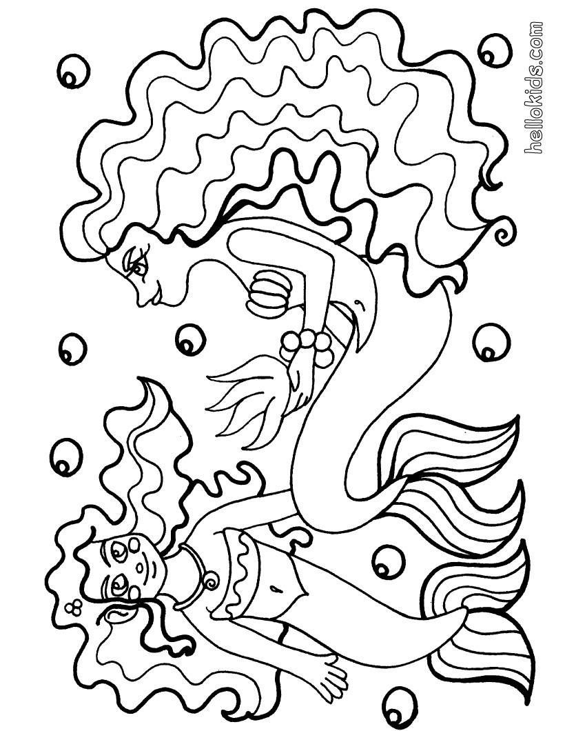 mermaids little mermaid