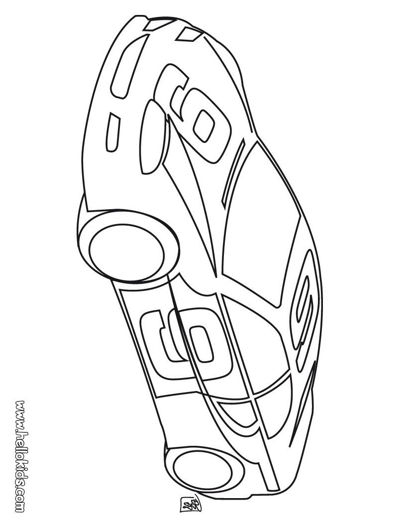 sport car coloring pages. Black Bedroom Furniture Sets. Home Design Ideas