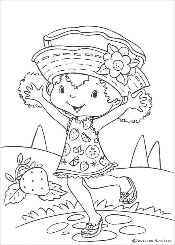 Happy Orange Blossom Coloring Pages Hellokids Com