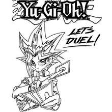 Yu Gi Oh Coloring Pages Coloring Pages Printable Coloring Pages Hellokids Com