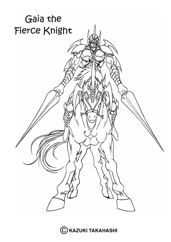 Gaia The Fierce Knight Coloring Pages Hellokids Com