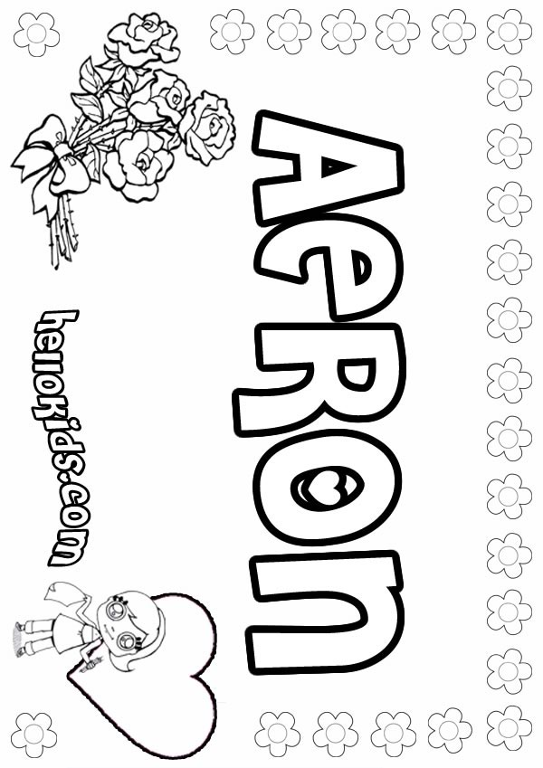 Adrienne coloring pages - Hellokids.com
