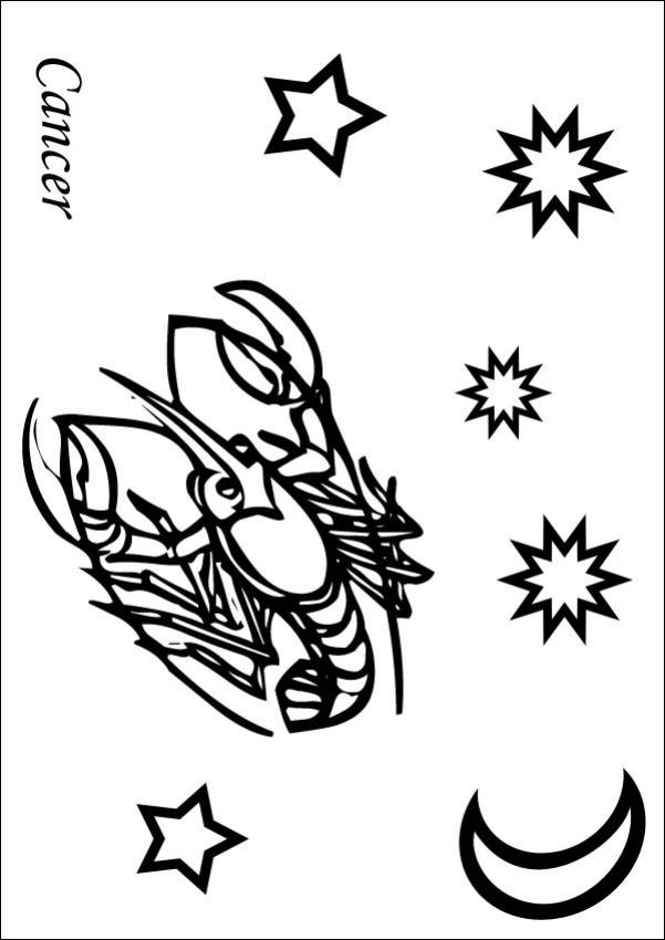 Cancer Coloring Pages