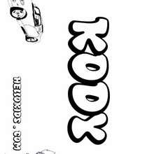 Lexus Of Lindon >> Boys names starting with K or L coloring posters - 0 printables to create your name poster