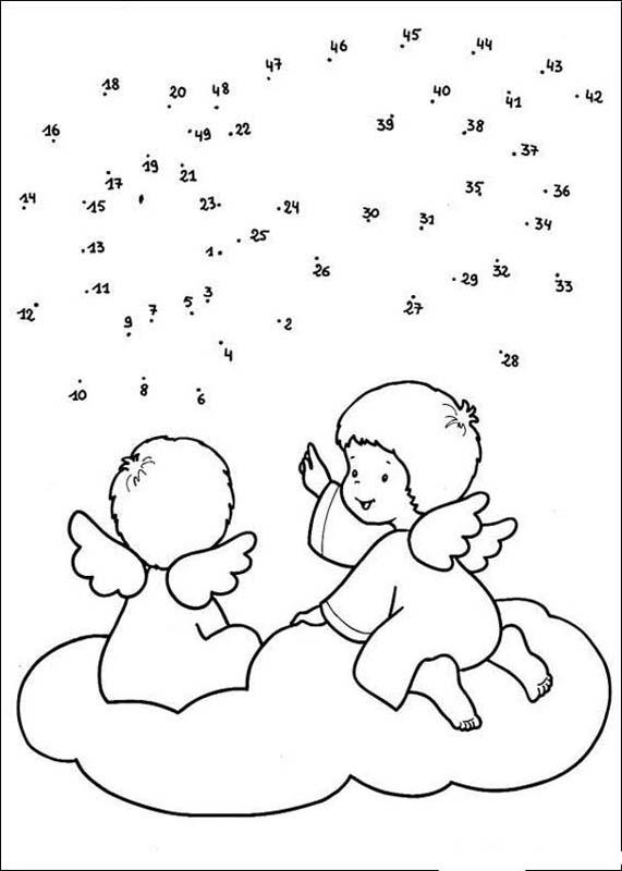 Christmas Dot To 24 Free Printable Worksheets For Kids. Snowman Is Smiling Dot To Angels Free Kids Games Connect The Dots Christmas. Preschool. Join The Dots Worksheet For Preschool At Clickcart.co