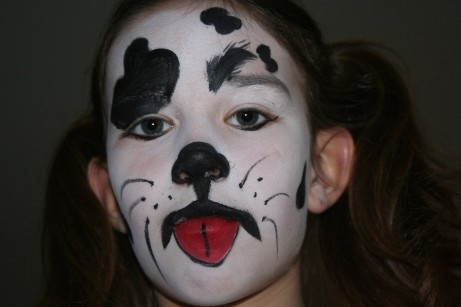 carnival-face-painting-dalmatian