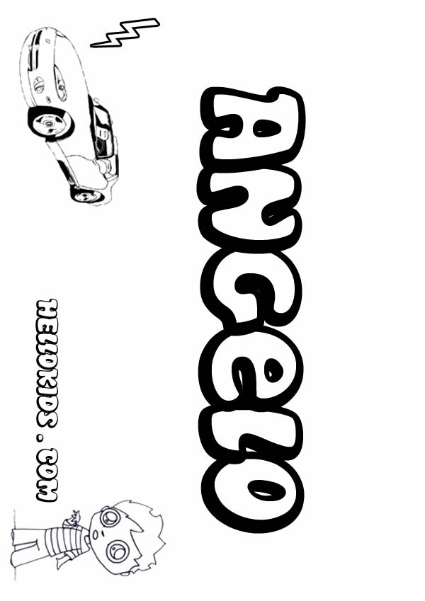 angelo coloring pages  hellokids